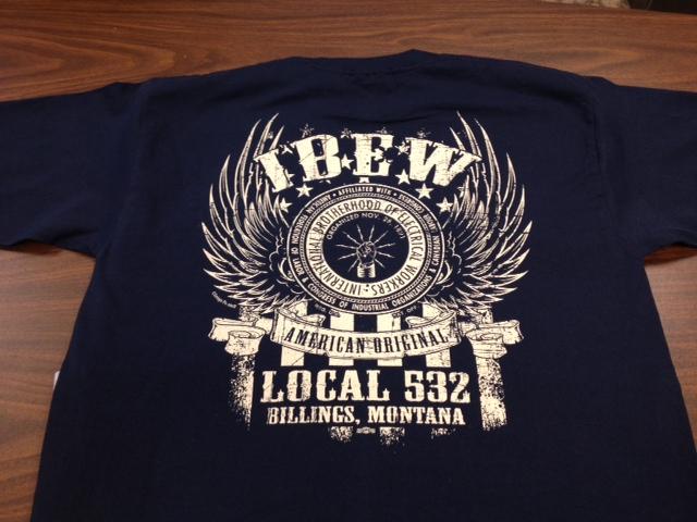 discharge tshirt ibew local 532